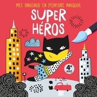 Idées Book - Super héros - Avec 1 pinceau.