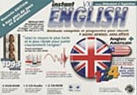 Idegraf - Instant English Niveaux débutant à supérieur - 2 DVD-Rom, 2 CD-Audio et  CD-Rom.