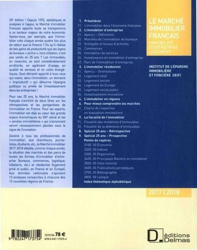 Le marché immobilier français  Edition 2017-2018