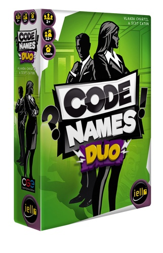 IELLO - Jeu Codenames Duo