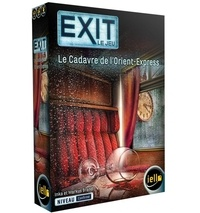 IELLO - Jeu Exit- Le Cadavre de l'Orient Express