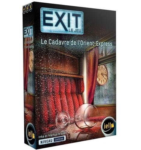 Jeu Exit- Le Cadavre de l'Orient Express
