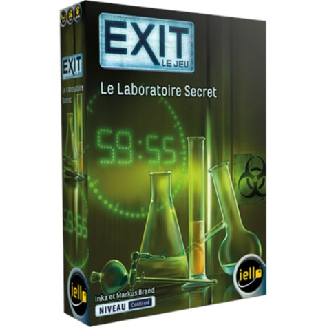 IELLO - Jeu Exit - Le Laboratoire Secret
