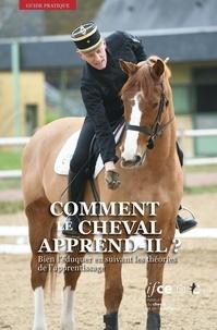 IFCE - Comment le cheval apprend-il ? - Bien l'éduquer en suivant les théories de l'apprentissage.