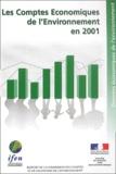 IFEN - Les comptes économiques de l'environnement en 2001.