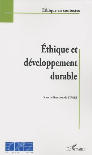 IFORE - Ethique et développement durable.