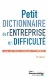 IFPPC - Petit dictionnaire de l'entreprise en difficulté - Tous les termes juridiques et pratiques.