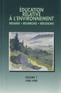Lucie Sauvé - Education relative à l'environnement N° 1/1998-1999 : Bilans, enjeux et perspectives de la recherche en éducation à l'environnement.
