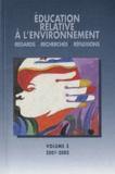 Jean-Etienne Bidou - Education relative à l'environnement N° 3/2001-2002 : Le partenariat en éducation relative à l'environnement.