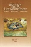 Lucie Sauvé et Renée Brunelle - Education relative à l'environnement N° 4/2003 : Environnements, cultures et développements.