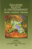 Lucie Sauvé et Isabel Orellana - Education relative à l'environnement N° 7/2008 : La dimension critique de l'éducation relative à l'environnement.