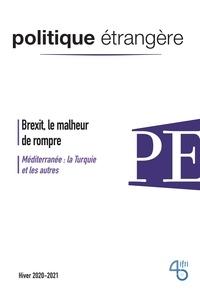IFRI - Politique étrangère Volume 85 N° 4, hive : Brexit, le malheur de rompre.