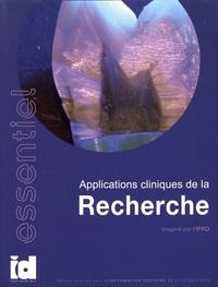 IFRO - Applications cliniques de la recherche.