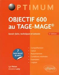 Histoiresdenlire.be Objectif 600 au TAGE-MAGE - Savoir-faire, techniques et astuces Image