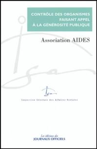 IGAS - Contrôle du compte d'emploi des ressources collectées auprès du public par l'association Aides - Rapport IGAS n° 2003 134 de février 2004, Réponse de l'association en date du 13 mars 2004.