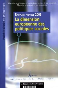 IGAS - La dimension européenne des politiques sociales - Rapport 2006.