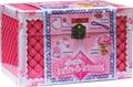 Igloo Books - Ma jolie boîte à beauté - Avec un bandeau, des tresses, du brillant à lèvres, des élastiques et des pinces à cheveux.