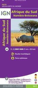 Openwetlab.it Afrique du Sud, Namibie, Botswana - 1/2 000 000 Image