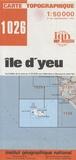 IGN - Ile d'Yeu - 1/50 000.