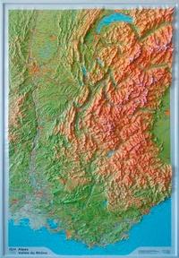 Alpes - Vallée du Rhône- 1/375 000 -  IGN pdf epub