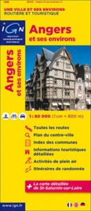 Angers et ses environs- 1/80 000 -  IGN  