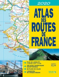 IGN et Dominique Le Brun - Atlas des routes de France - 1/180 000.