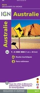 Australie- 1/4 000 000 -  IGN pdf epub