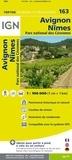 IGN - Avignon, Nimes, Parc national des Cévennes - 1/100 000.