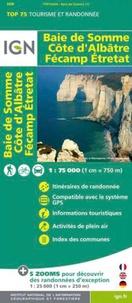 IGN - Baie de Somme, Côte d'Albâtre, Fécamp, Etretat - 1/75 000.