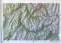 IGN - Belledonne/Vanoise - Carte en relief 1/100 000.