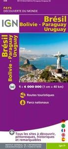 Brésil, Bolivie, Paraguay, Uruguay -  IGN pdf epub
