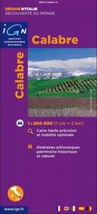 Calabre- 1/200 000 -  IGN |
