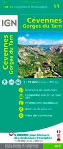 Cévennes Gorges du Tarn- 1/75 000 -  IGN pdf epub