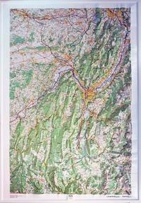 IGN - Chartreuse-Vercors - Carte en relief 1/100 000.