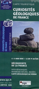 Curiosités géologiques de France- 1/1 000 000 -  IGN pdf epub