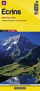Ecrins : Massif, Parc national, Grandes Rousses, Cerces, Clarée- 1/60 000 -  IGN | Showmesound.org