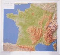 Galabria.be France générale - Carte en relief 1/1 400 000 Image