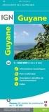 IGN - Guyane - 1/400 000.