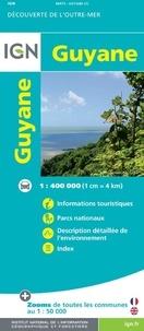 Openwetlab.it Guyane - 1/400 000 Image