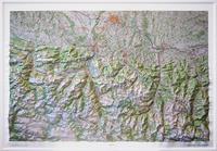 IGN - Hautes-Pyrénées - Carte en relief 1/100 000.