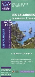 IGN - Les Calanques (De Marseille à Cassis) - 1/15000.