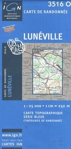 Deedr.fr Lunéville - 1/25 000 Image