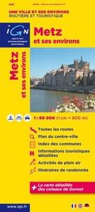 Metz et ses environs- 1/80 000 -  IGN pdf epub