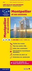 IGN - Montpellier et ses environs - 1/80 000.
