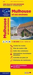 Mulhouse et ses environs- 1/80 000 -  IGN pdf epub