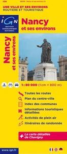 Nancy et ses environs- 1/80 000 -  IGN pdf epub