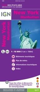 New-york/Manhattan- 1/15 000 -  IGN pdf epub