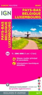 IGN - Pays-Bas/Belgique/Luxembourg - 1/300 000.
