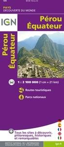 IGN - Pérou, Equateur - 1/2 100 000.