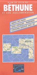Plan de ville de Béthune et son agglomération -  IGN pdf epub